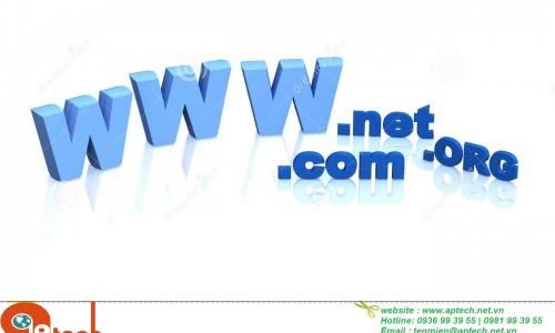 Khác nhau giữa các tên miền com, net, org?