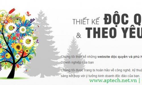 Bảng giá thiết kế website độc quyền theo yêu cầu
