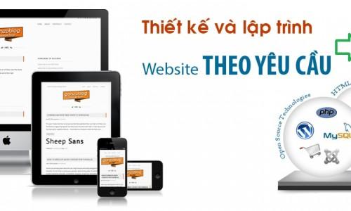 Quy trình thiết kế website theo yêu cầu