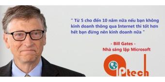 Nhận định của Bill Gate về kinh doanh online