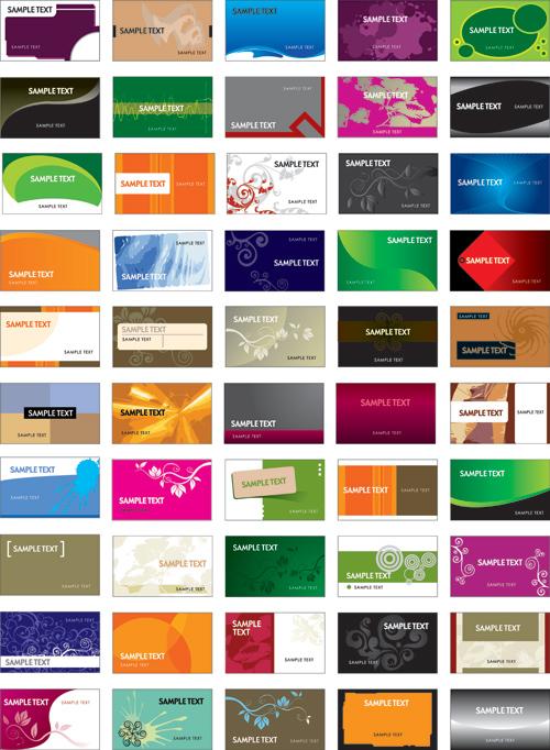 Phong cách và sự đa dạng của card visit