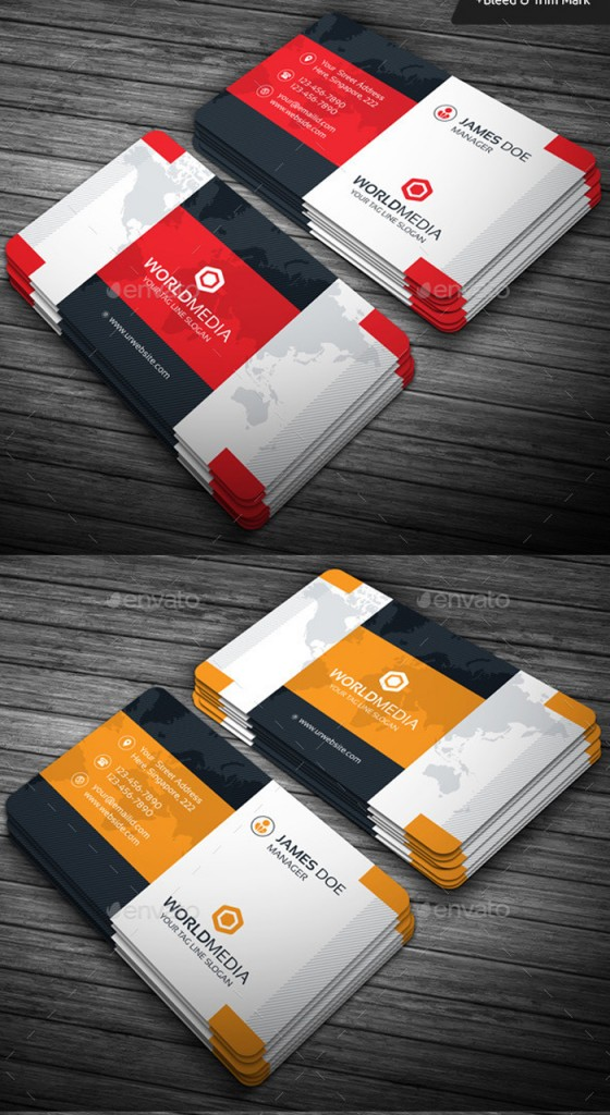Thiết kế in Card visit doanh nhân, kinh doanh