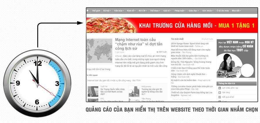 Quảng cáo cùng lúc trên hàng trăm website tại sao không?